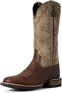 ARIAT Men's Lockwood Western Boot Antique Buckskin Size 10.5 M Us