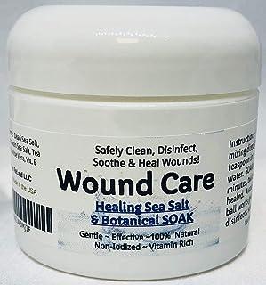 Urban ReLeaf Wound Care ! Healing Sea Salt & Botanical SOAK ! Safely Clean, Disinfect & Heal Wounds. Gentle, Effective, No...