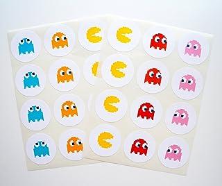 Retro Arcade Sticker - 24 Pack