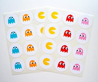 Retro Arcade Sticker - 24 Pack