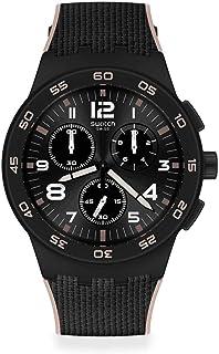 Swatch Quartz analogique Montre avec Bracelet en Plastique SUSB106