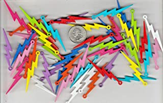Charming line for The Manufacture of Jewelry and Ornaments  Mixed Plastic Lightning Bolt Charms IN23587452