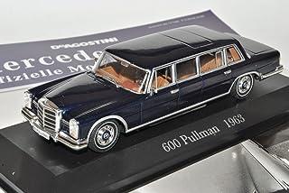 Ixo Mercedes Benz 600 Pullmann Limousine 1964 1981 W100 Inkl Zeitschrift Nr 4 1/43 Modell Auto