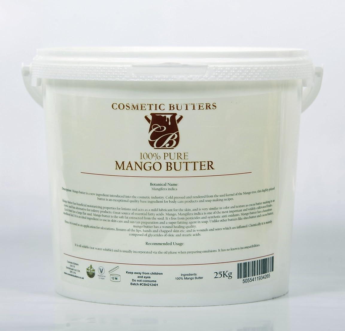 医薬古風なさびたMango Butter - 100% Pure and Natural - 5Kg