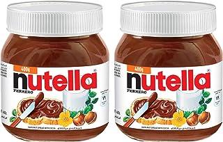 Nutella Chocolate Hazelnut Spread with Cocoa, 2 X 400 g