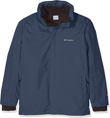 Columbia Wasserdichte Regenjacke für Herren, Mission Air Interchange Jacket, Polyester, 1629192