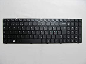 KinFor Product Keyboard for Samsung R580 NP-R580 Nordic Europe + Clear Protector Cover