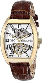 Men's ES-8015-03 Holborn Automatic Self-Wind Brown Watch