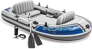 Intex Excursion Uppblåsbar Båt, Flerfärgad, 315 x 165 x 43 cm