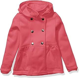 Girls' Double Breasted Fleece Jacket