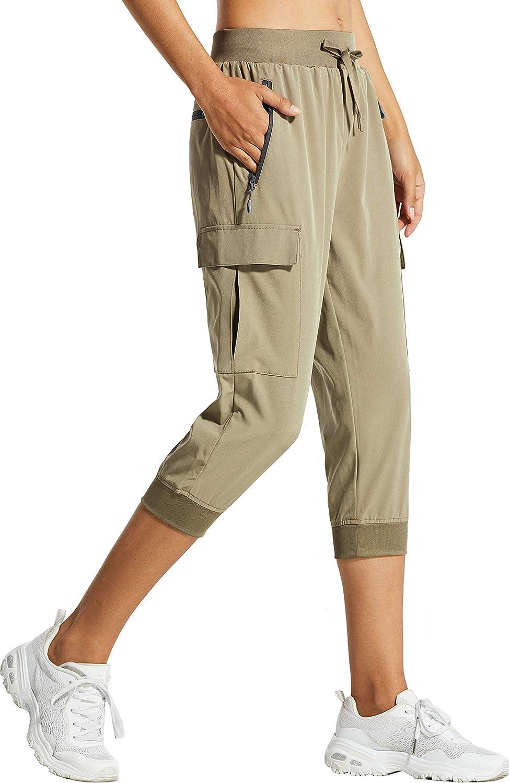 Libin Women's Cargo Capri Cropped Pants Max 51% OFF Hiking Lightweight Max 57% OFF