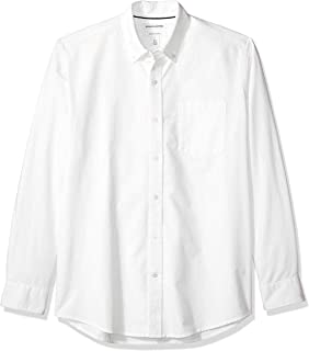 Amazon Essentials Men's Regular-Fit Long-Sleeve Pocket Oxford Shirt
