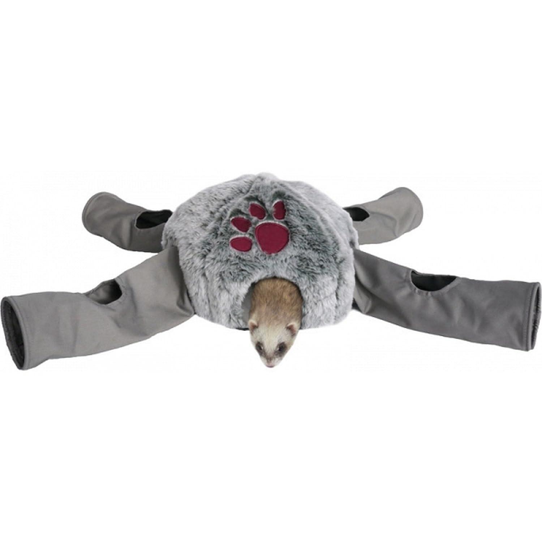 (ローズウッド) Rosewood 小動物用 スナッグルズ スリープNプレイ オクトパス トンネルベッド ペット用おもちゃ