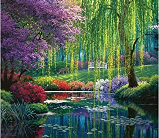 Willow Pond 300 Piece Jigsaw Puzzle by SunsOut