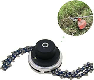 CZS 65Mn Trimmer Head Coil Garden Lawn Mower Brush Cutter Accessory Chain Grass Mower Head Replacement Outdoor Power Tools Universal