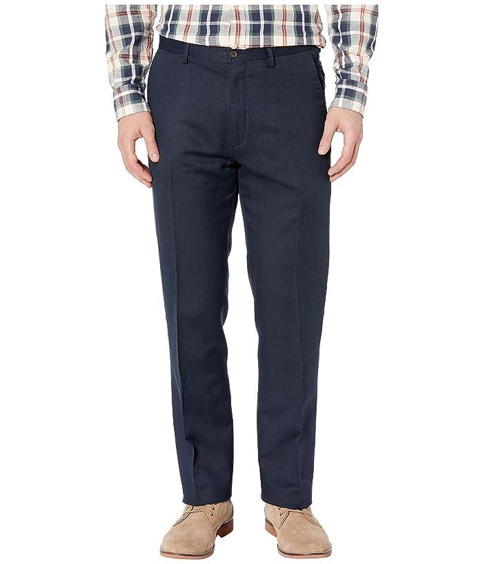 best website vast selection purchase cheap Linen Lyocell Blend Newport Flat Classic Fit Pants