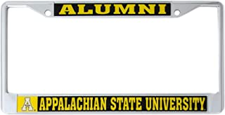 Desert Cactus Appalachian State University Alumni Metal License Plate Frame for Front Back of Car Officially Licensed App State Mountaineers (Alumni)