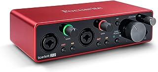 Scarlett 2i2 3rd Gen 2-in, 2-out USB Audio Interface (Renewed)