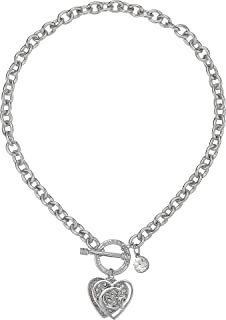 Best sterling silver heart necklace with toggle clasp Reviews