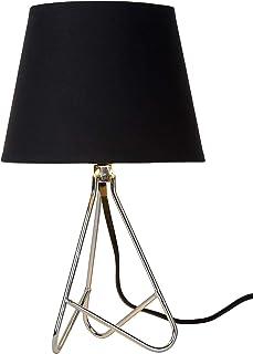 Lucide GITTA - Lampe De Table - Ø 17 cm - Chrome