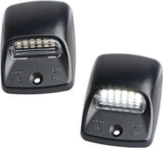 RUXIFEY LED License Plate Light Lamp Replacement Compatible with Toyota Tacoma 2005 to 2015, Tundra 2000 to 2013