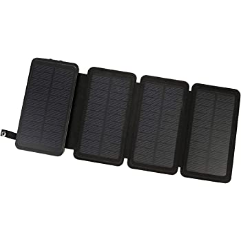Amazon Com Powerlocus Solar Charger 4 Efficient Panels 24000mah Waterproof Solar Battery Charger For Emergency Rugged Portable Solar Power Bank External Battery Charger For Phones Tablets Gps Camping Etc