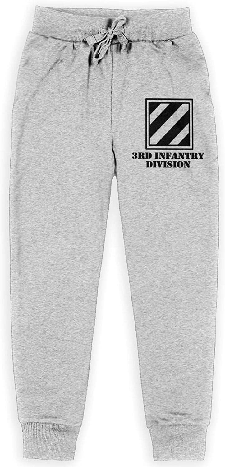 Army 3rd Infantry Division Subdued Veteran Teenage Boy's Girls' Trousers Trouser with Pockets