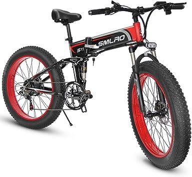 Shengmilo 1000W de Grasa eléctrica Bicicleta de montaña 13AH batería 21Speeds Freno de Disco hidráulico
