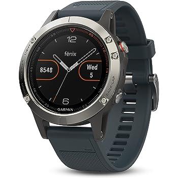 Garmin fēnix 5 GPS-Multisport-Smartwatch - Herzfrequenzmessung am Handgelenk, Sport- & Navigationsfunktionen (Generalüberholt)