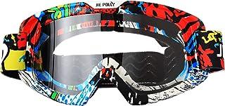 Óculos de motocicleta Motocross ATV Óculos de bicicleta de sujeira Mx Offroad óculos para homens e mulheres