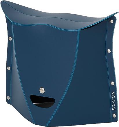 SOLCION 折叠椅 垫子 藏青色 高さ25cm PT2503