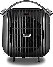 DELONGHI HFS30C24.DG - Calefactor de mesa, 2400 W, color negro