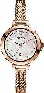 Bulova - Reloj de pulsera Bulova para mujer Diamanti 97P108 estilo casual, código 97P108
