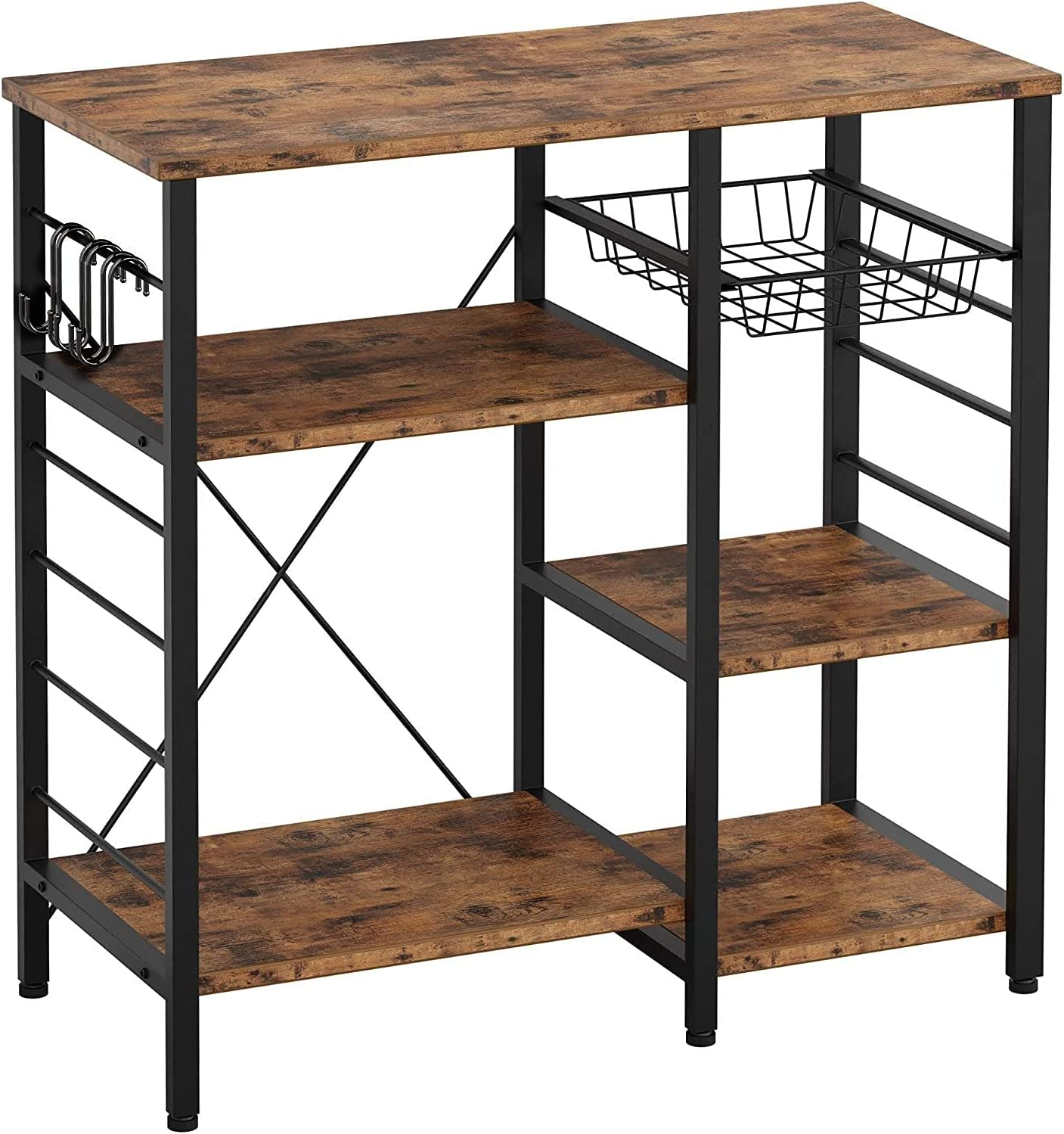 Kitchen Cart 3-Tier Inexpensive Max 40% OFF Baker's Utility Rack Oven Microwave