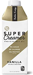 Kitu by SUNNIVA Vanilla Super Creamer with Protein and MCT Oil, Keto Approved, 0g Sugar, 3 g Protein, 50 Calories, Pack of 2