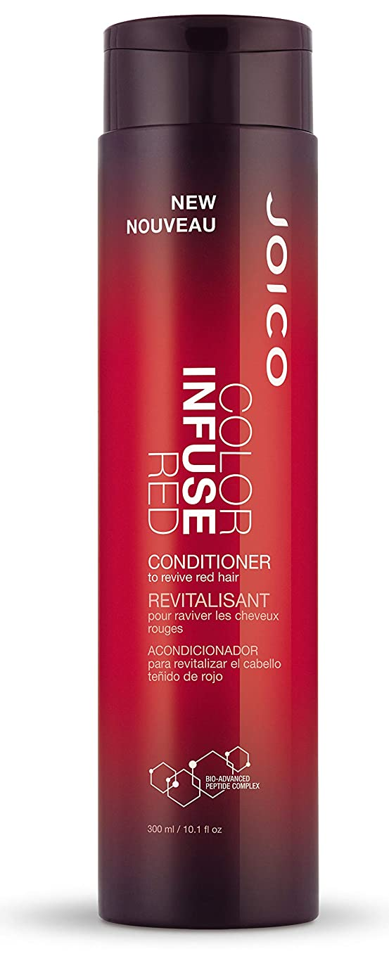 受粉者不測の事態そのようなColor Infuse by Joico Red Conditioner 300ml by Joico