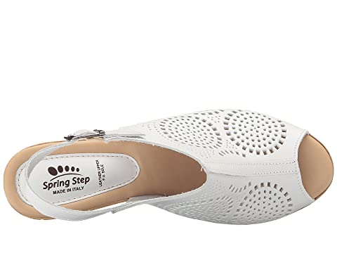 Step Spring Liberty Blanco Spring Step w8zxOqg0x