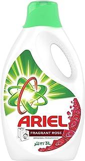 Ariel Automatic Power Gel Laundry Detergent, Fragrant Rose Scent, 3L