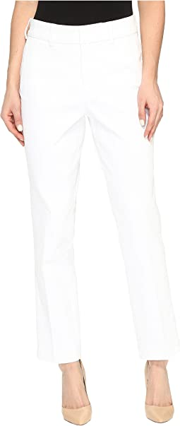 Ankle Trousers in Optic White