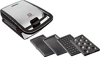 Tefal Snack Collection SW854D Combi-apparaat, 4-delige set, inclusief 4 platen met antiaanbaklaag, vaatwasmachinebestendi...