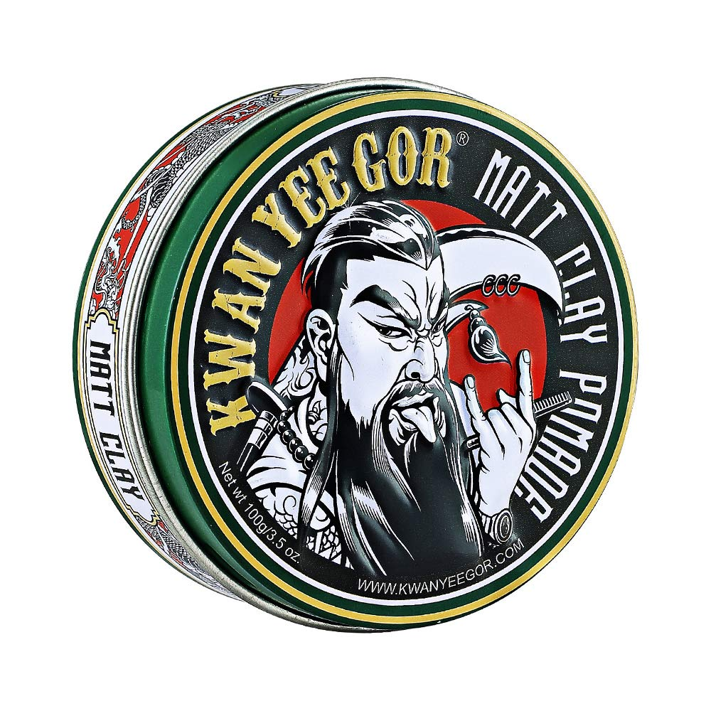 KWAN YEE Ranking TOP15 GOR Portland Mall Strong Hold Matte Shine Pomade Men for Hair 3.5oz S