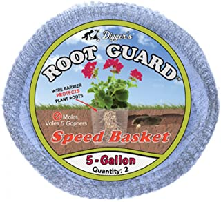 Sponsored Ad - Digger's 5-Gallon Root Guard Speed Baskets for Plants, Control Gopher for Efficient Planting, 2-Pack