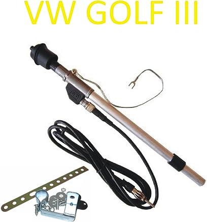Conector de antena telescópica DIN para coche