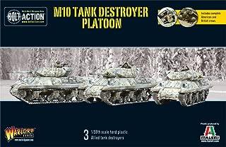 Us M10 Tank Destroyer Platoon, Bolt Action Models