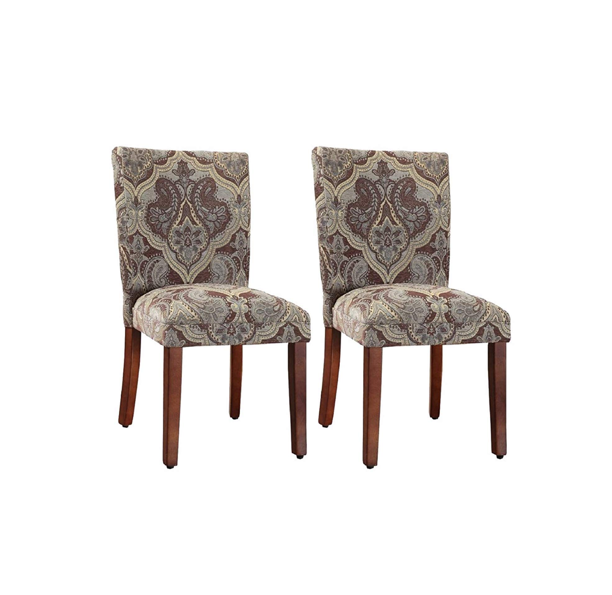 Upholstered Dining Chairs Parson Light Wood Chair Pads