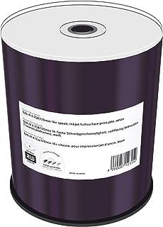 Inkjet Fullsurface-Printable - 100 x DVD+R - 4.7 GB 16x