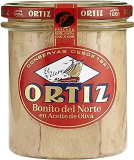 Ortiz Bonito del NorteTuna in Olive Oil (6.34 oz/180 g jar)