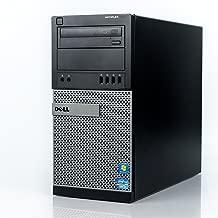Dell Optiplex 790 Tower Desktop (Intel Quad Core i5 3.10GHz, AMD Radeon 1GB Graphics Card, 16GB RAM, 120GB SSD, 1TB HDD, Windows 10 Professional, WiFi) (Renewed)