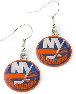 NHL Womens NHL Logo Dangler Earrings