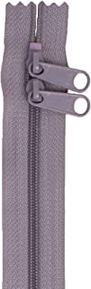 Patterns ByAnnie Handbag Zipper 40in Gray-Double-Slide, 40""